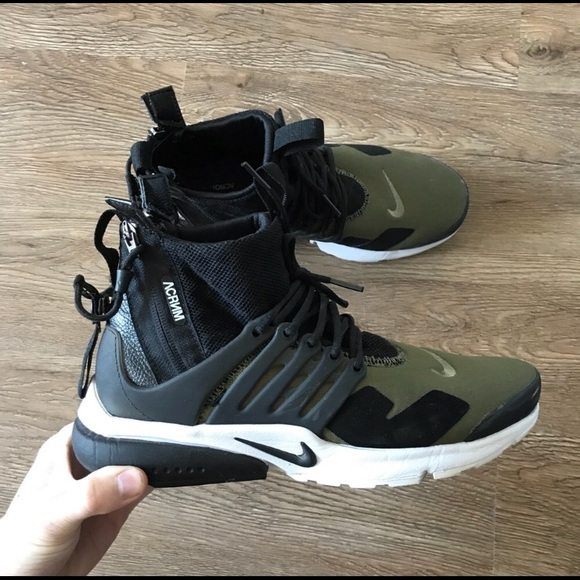 pretty nice 666db efbdd Nike Other - NIKE ACRONYM PRESTO IN OLIVE - US7-7.5 XXS